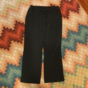 5f7a871e05a EUC Jockey XL Black Scrub Pants Drawstring
